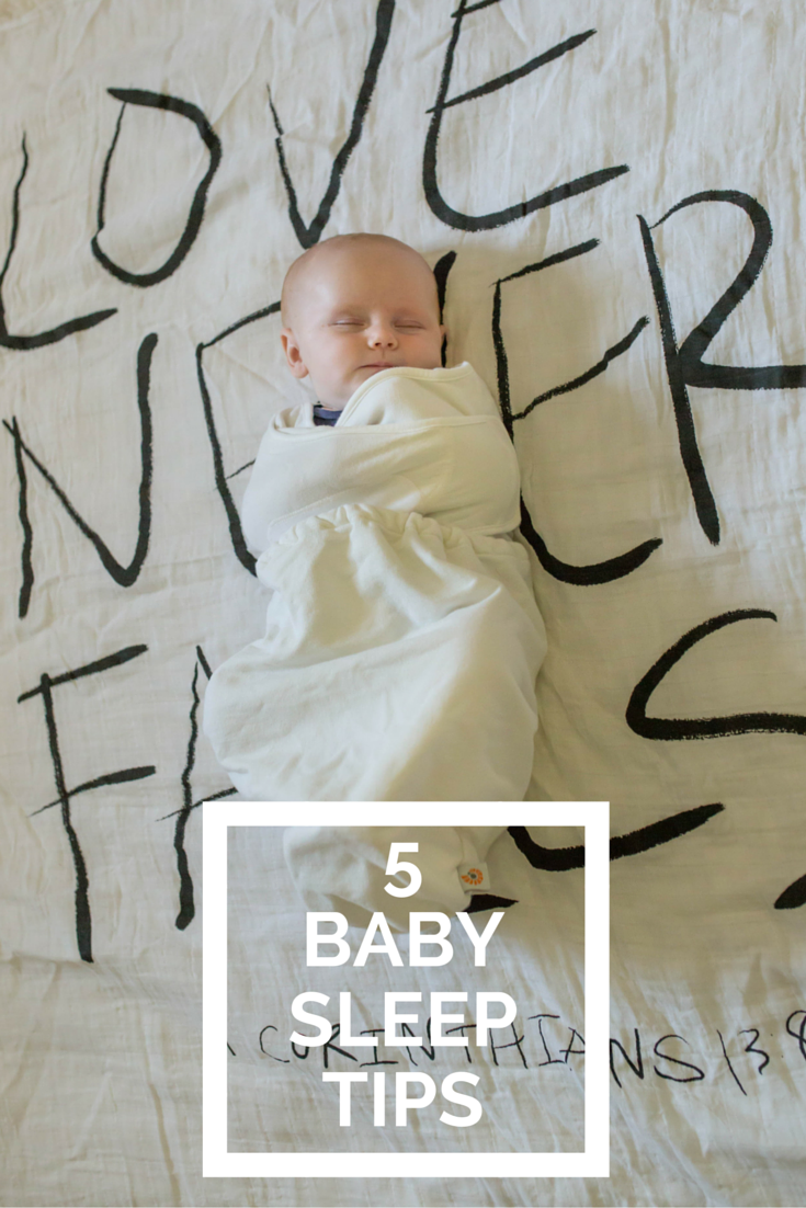5 baby sleep tips