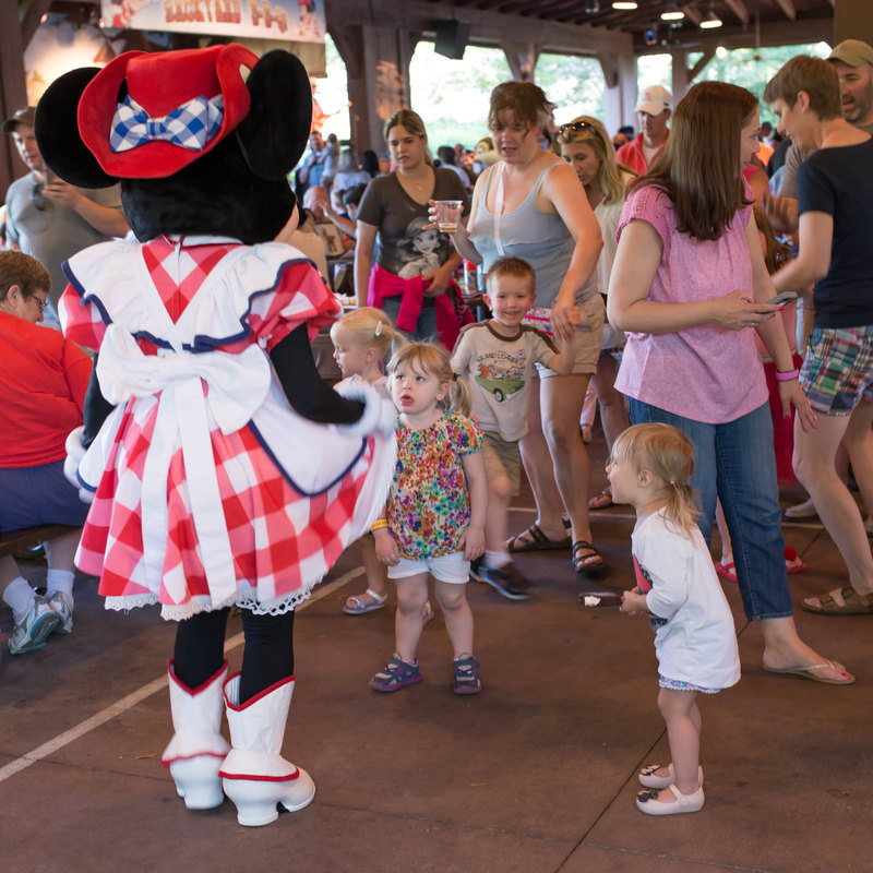 Disney with a Baby and a Toddler by Atlanta blogger Casual Claire