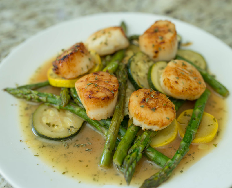 Pan Sear Scallops-22