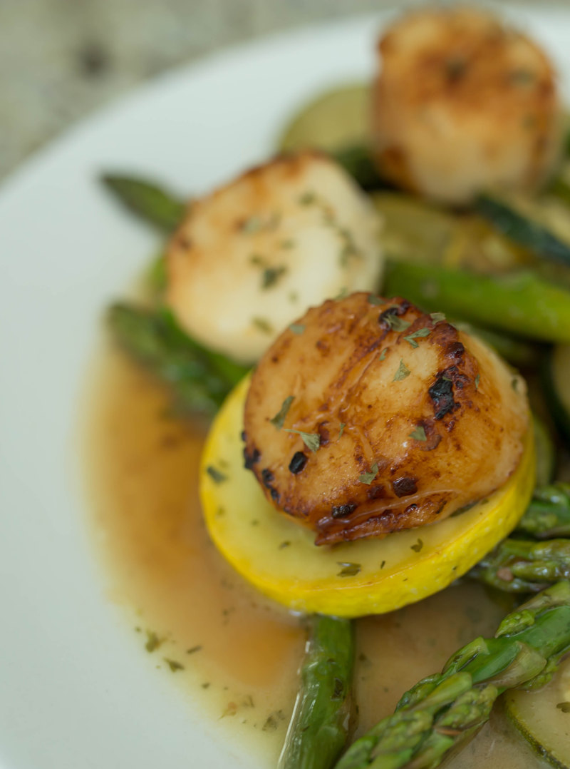 Pan Sear Scallops-23