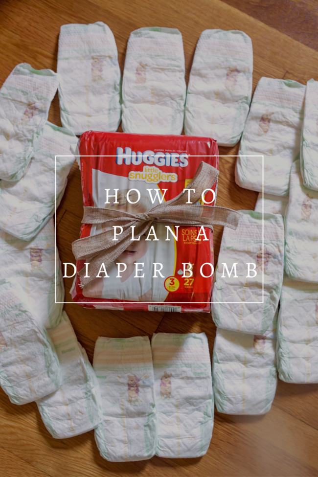 What a cool idea!!! When you have a pregnant friend coordinate a 'diaper bomb' where all your friends get together and send diapers to the mom-to-be as a suprise on the same day! SO fun!