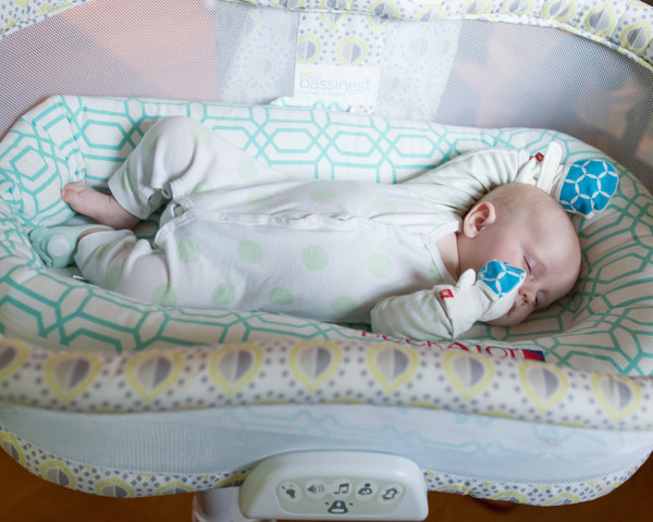Sweet sleeping boy with an Owlet monitor! To be the best mom possible you need SLEEP! Here are some awesome sleep tips for mama's of babies and to learn more about Owlet, a foot monitor that alerts you if your baby stops breathing!!