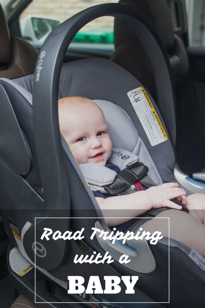 Top tips for road tripping and car trips traveling with a baby!