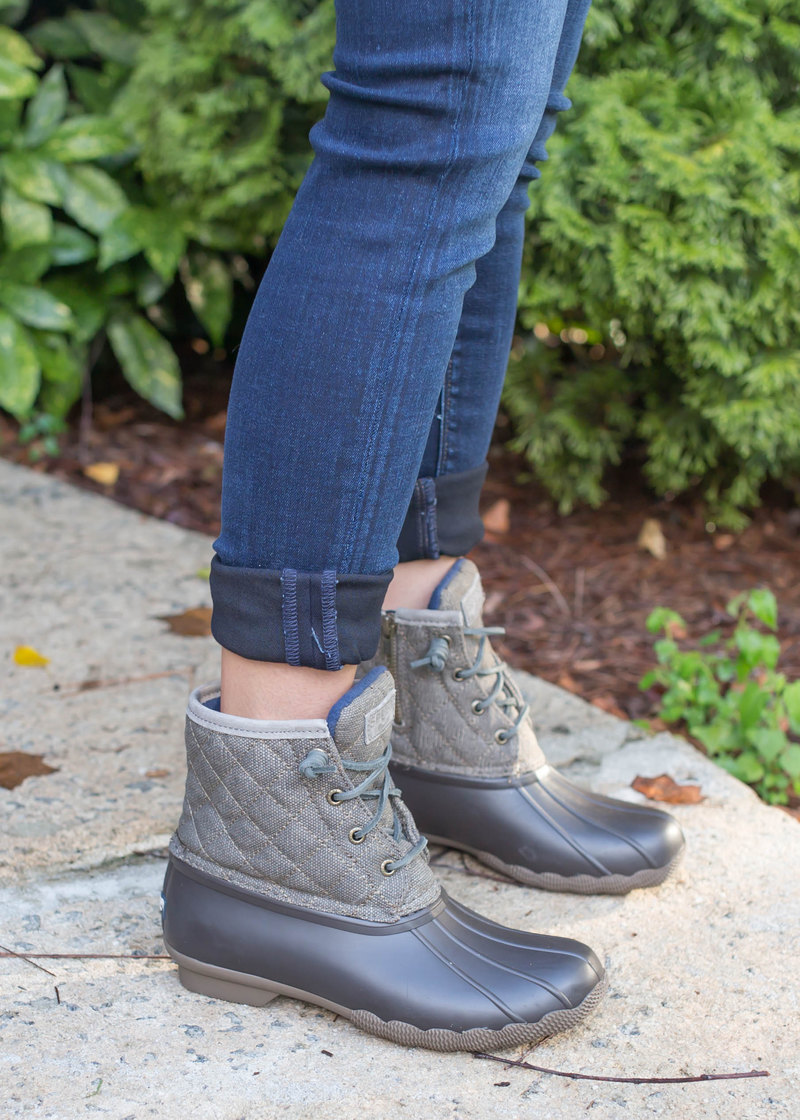 Sperry Quilted Duck Boots from the Nordstrom Anniversary Sale - MUST HAVES