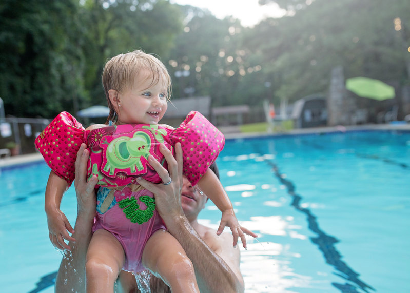 Pool Essentials - this puddle jumper is so cute!