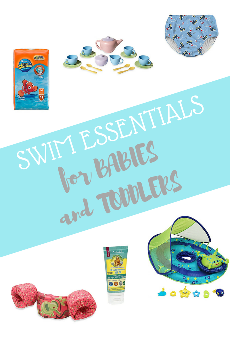 Swim Essentials for babies and todlers
