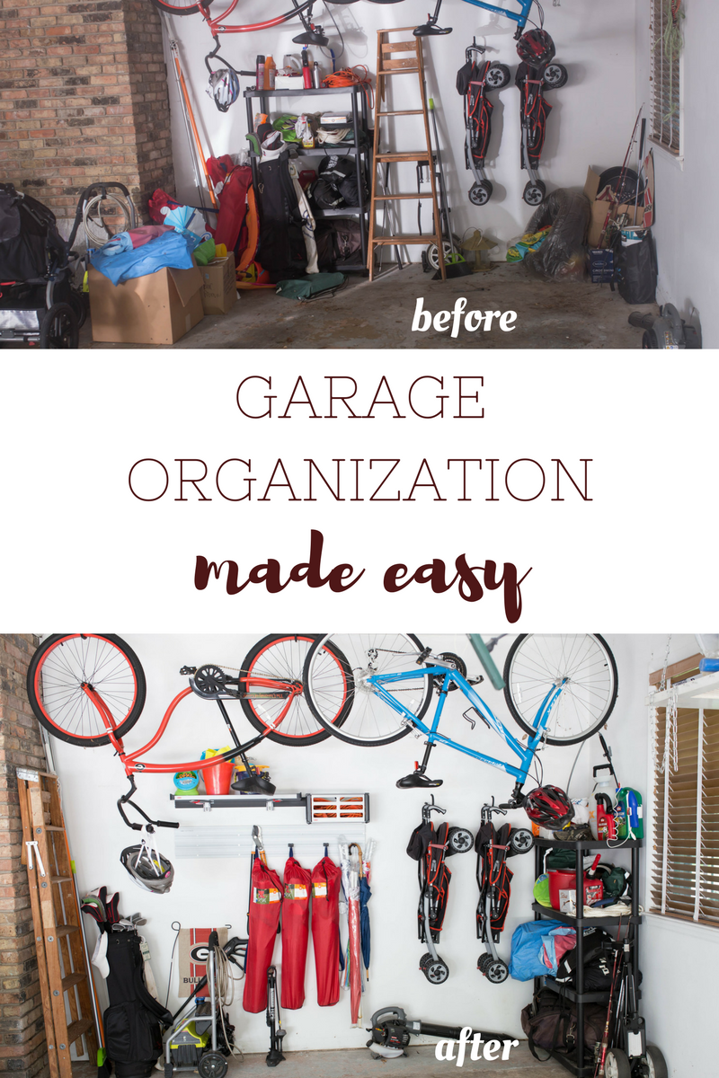 Garage Organization Made Easy Casual Claire Electrical Wiring