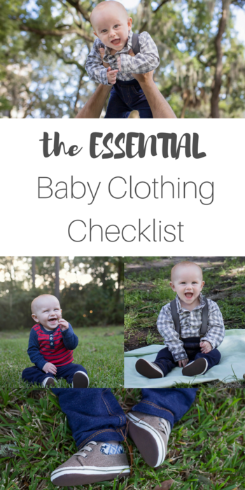 The Essential baby clothing checklist