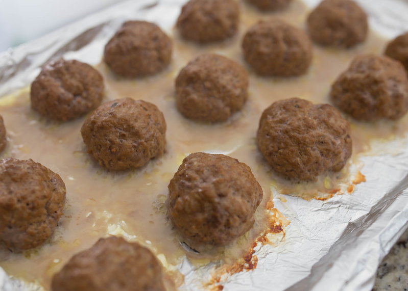 baking the perfect meatball
