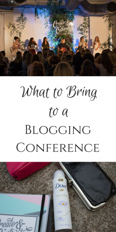 What to bring to a blogging conference and a recap of create + cultivate Atlanta
