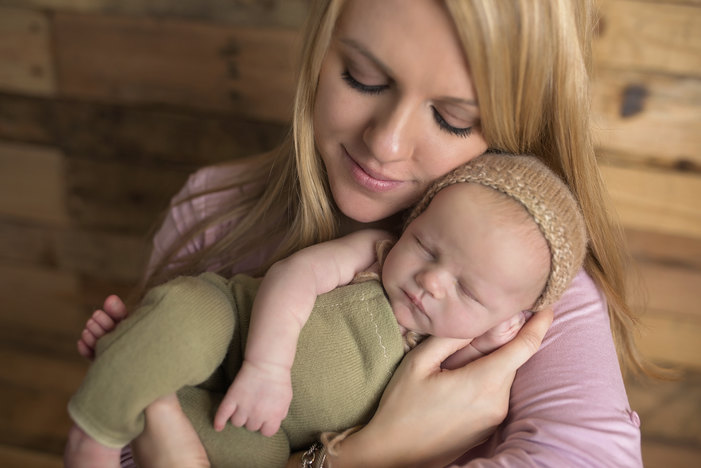 Lifestyle and Food Blogger Claire Cervino and her baby boy