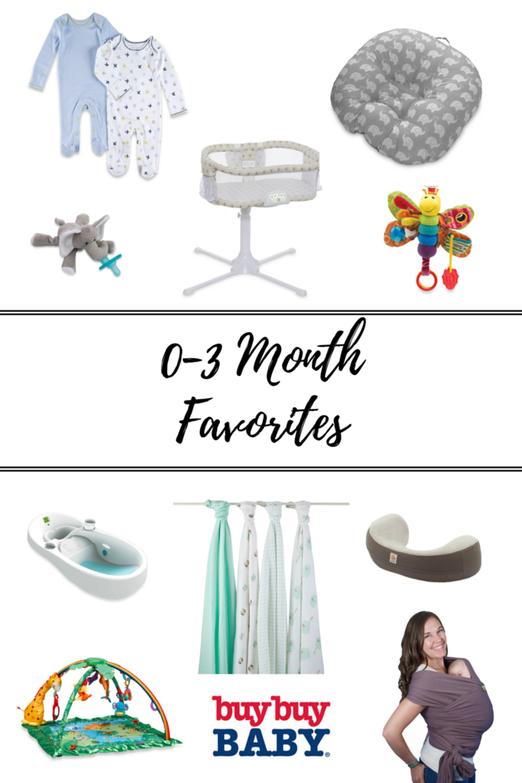 Favorite products for babies in the 0-3 month range!