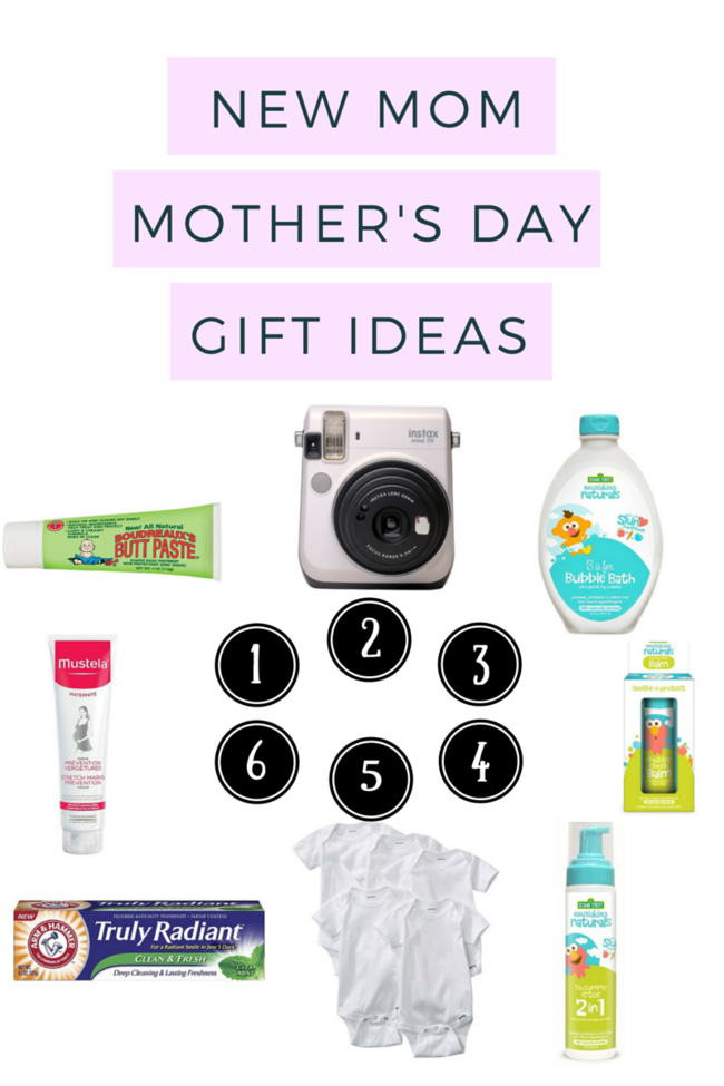 New Mom Mother's Day Gift Guide