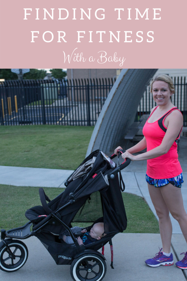 Finding time for fitness with a baby! Great tips!