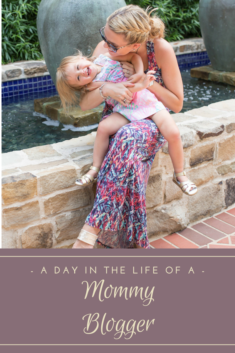 A day in the life of a mommy blogger! Love the insight on this! Great for anyone who wants to become a mommy blogger!