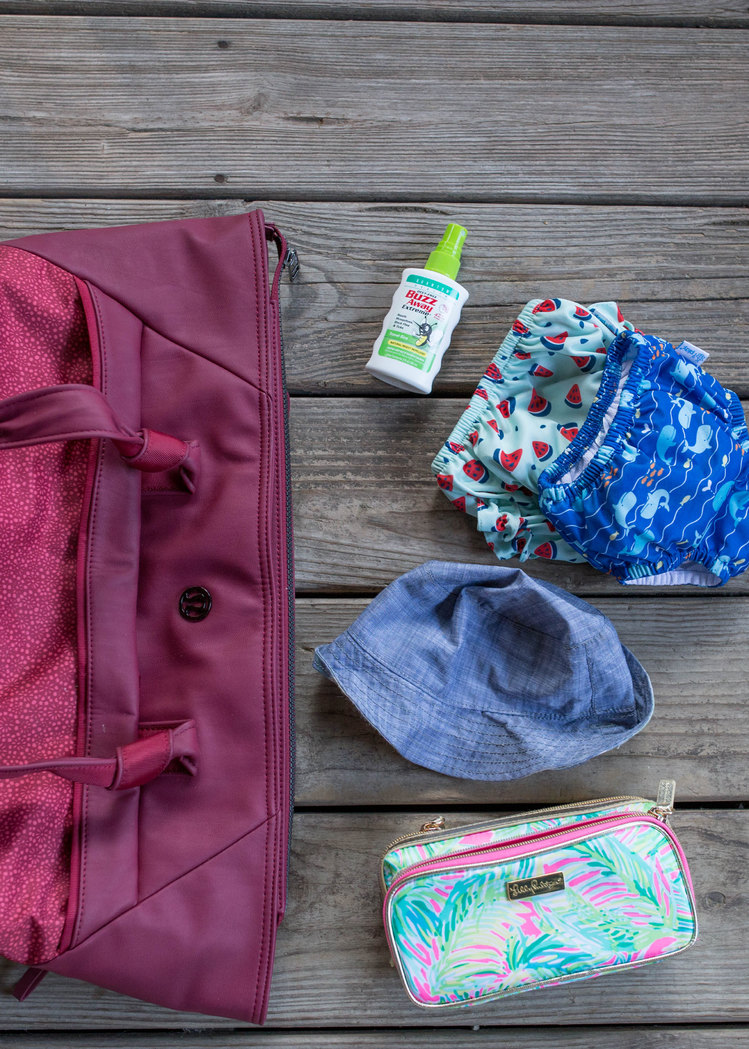 Sumer Diaper Bag Essentials