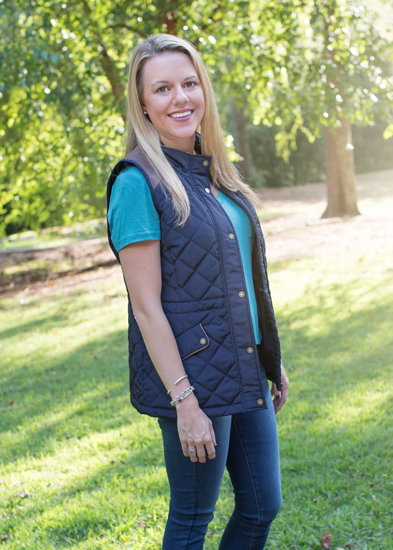 The Ultimate Nordstrom Anniversary Sale Guide - stock up on Fall apparel like this gorgeous Ralph Lauren vest!